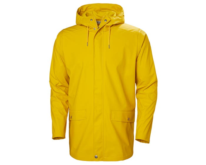 Moss Rain Coat | PU Rain Jacket with Back Ventilation | HH