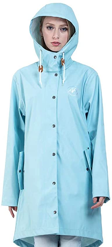 Amazon.com: Andes Forest Women's Raincoat with Hood Lightweight .