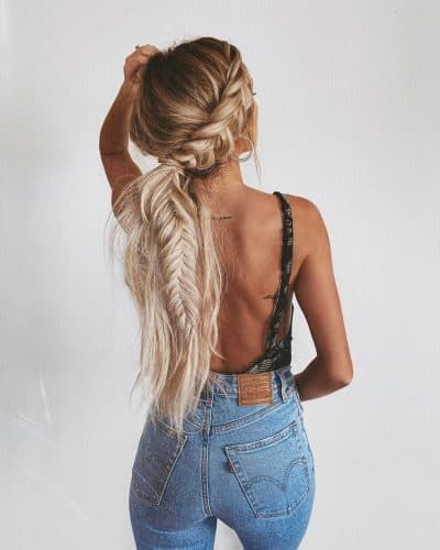25 Gorgeous Braided Hairstyles You Should Try   Rainy day .