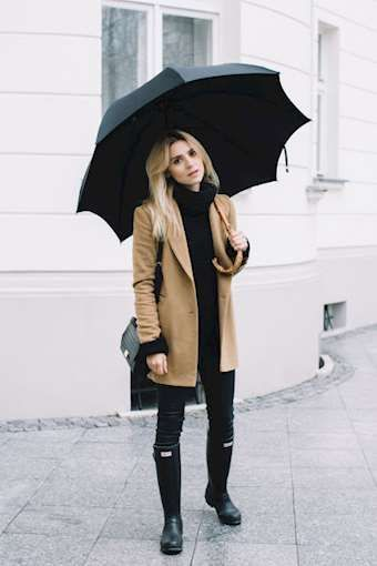 Rainy Day Style Inspirations | Rainy day fashion, Boating outfit .