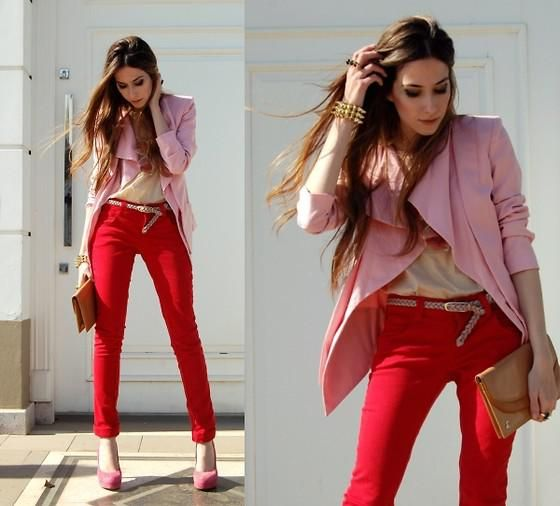 Risky Fashion: Unlikely Color Combinations - Paperblog | Fashion .