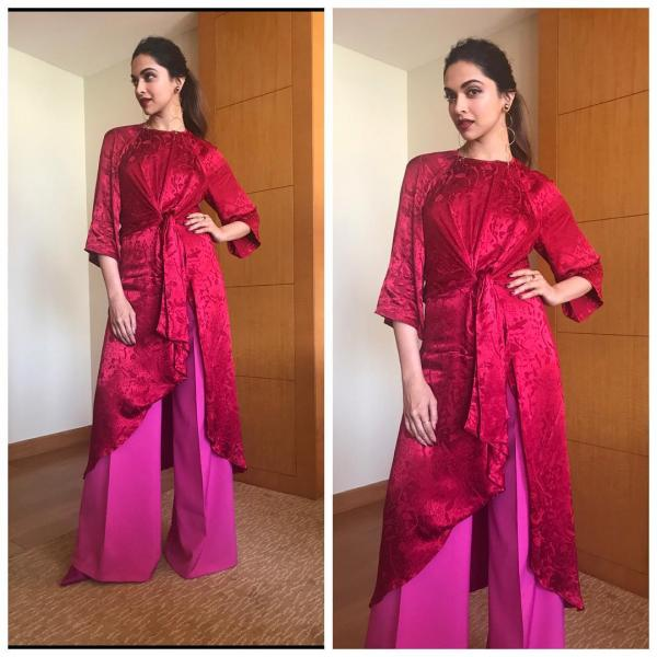 Red and Pink: The HOT colour combination followed by the Bollywood .