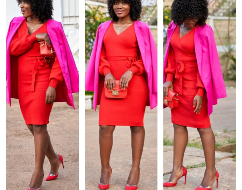 Red and Pink; A Fashion Faux Pas? Let's Break This Rule! - Ndoh's .
