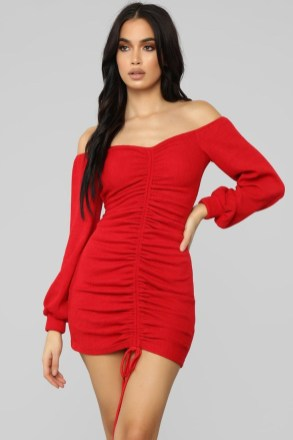 40 Brilliant Red Denim Dress Ideas You Must Have Soon - GLOOFASHI