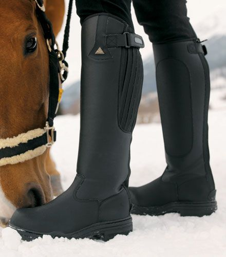 Mens Mountain Horse Rimfrost Tall Winter Riding Boots | Equestrian .