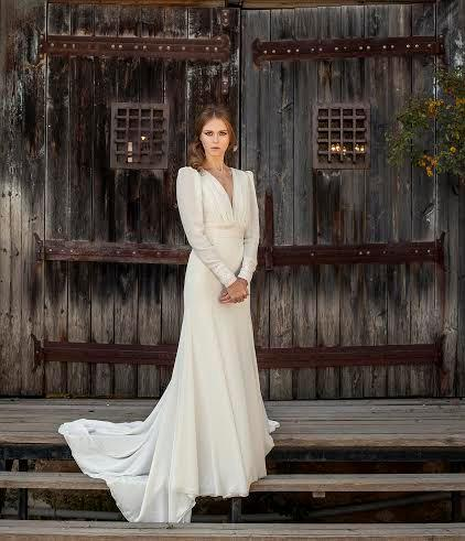 Romantic Wedding Dress Long Sleeve Wedding Dress Bohemian Wedding .