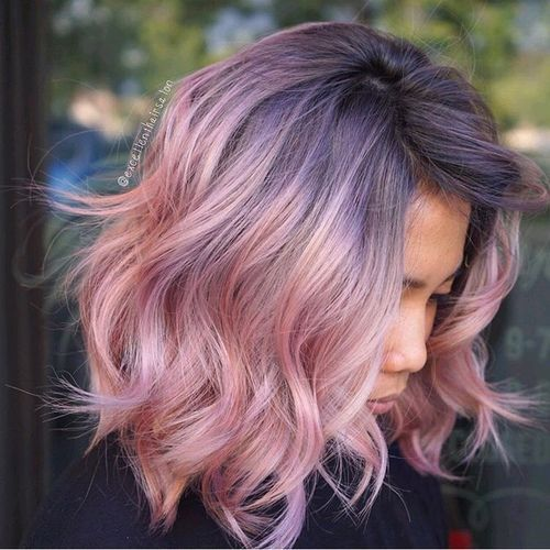 Breathtaking 20 Rose Gold Balayage Inspiration for You https://www .