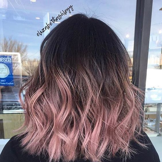 20 Rose Gold Balayage Inspiration for You | Hair color pink, Hair .