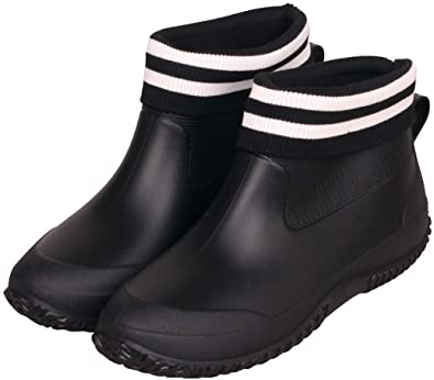Amazon.com | C CELANDA Rain Shoes for Women Waterproof Garden .