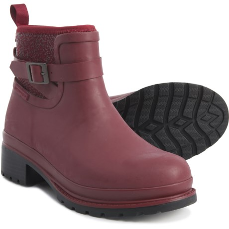 Muck Boot Company Liberty Ankle Rubber Rain Boots (For Women .