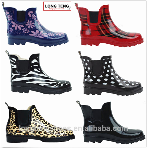 2016 Lt.w4081 Ladies Ankle Rubber Rain Boots Wholesale - Buy .