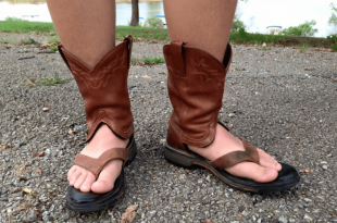 Cowboy Boot Sandals are the Craziest Summer Fashion Tre