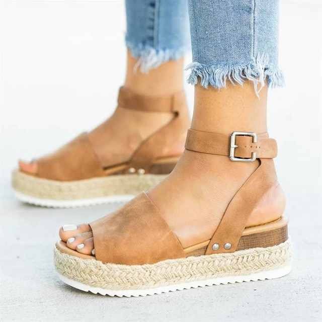 Wedges Shoes For Women High Heels Sandals Summer Shoes 2019 Flop .
