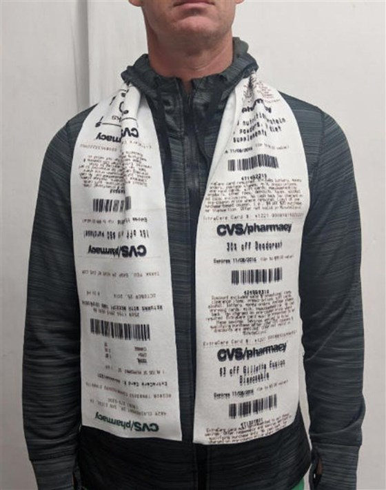 CVS receipt scarves: Here's where you can get