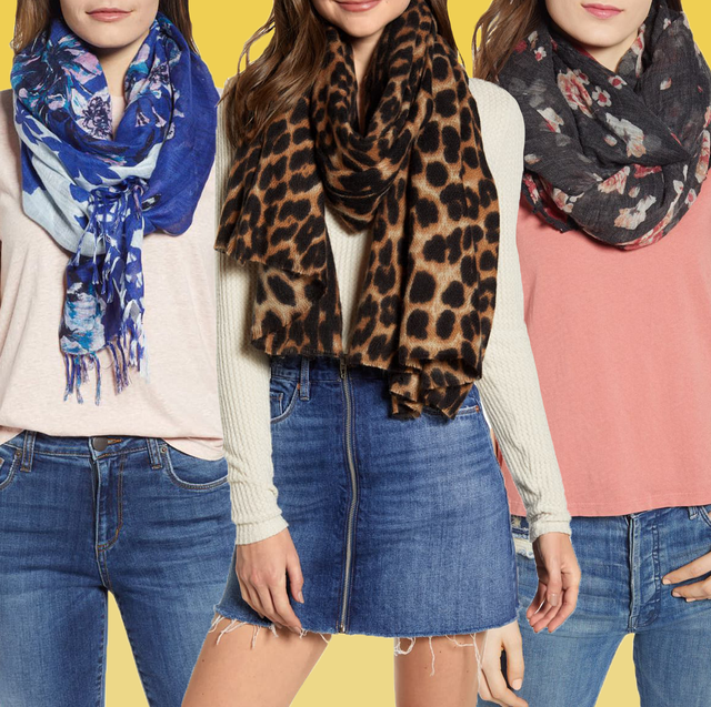 14 Best Fall Scarves - Oversized, Silk, and Plaid Scarves for Wom