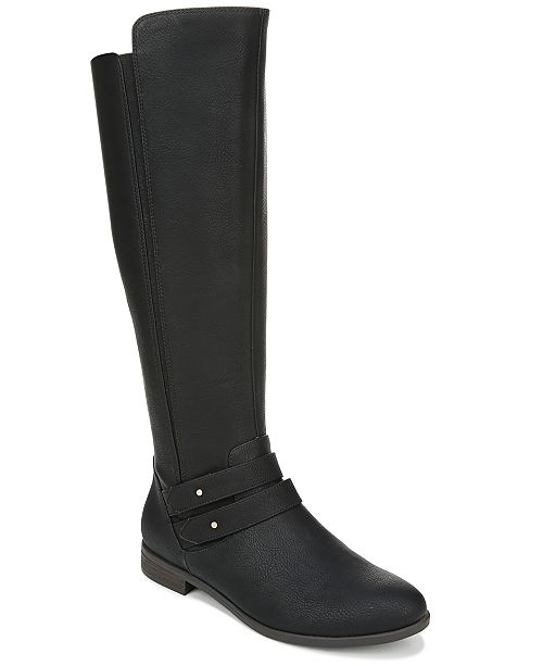 Dr. Scholl's Women's Reach For It Wide Calf High Shaft Boots .