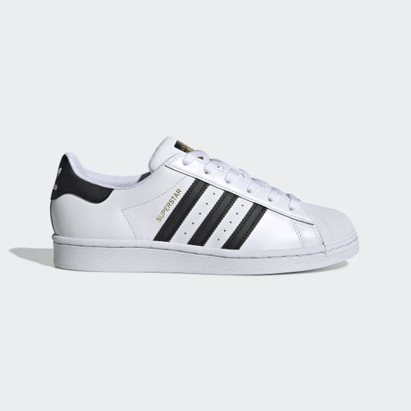 Women's Superstar Cloud White and Core Black Shoes | adidas