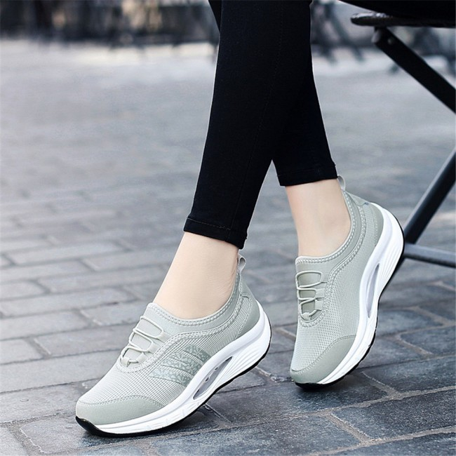 Fashion Casual Breathable Mesh Shoes Ladies Sneakers - Wow Produc
