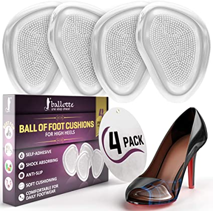Amazon.com: Premium Metatarsal pads, Ball of Foot Cushions for .