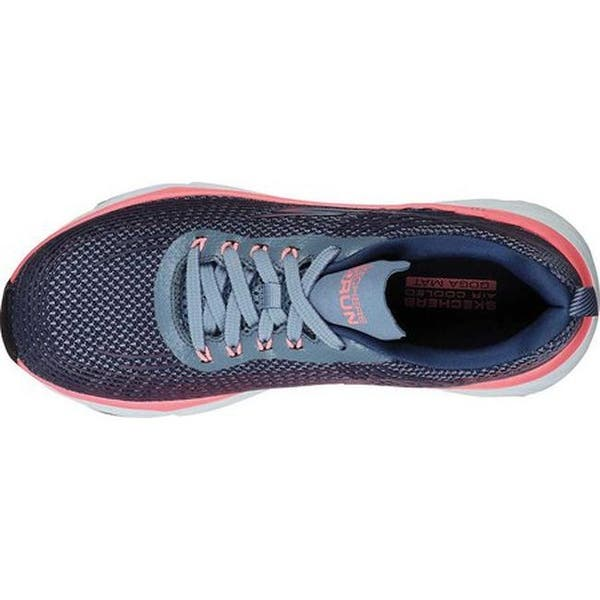 Shop Skechers Women's Max Cushioning Elite Running Shoe Purple .