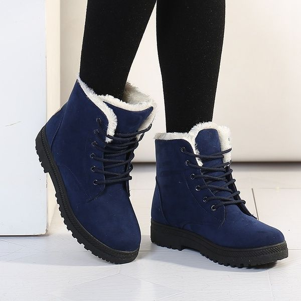 Classic Women's Snow Boots Fashion Winter Short Boots | Winter .