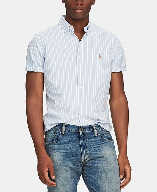 Polo Ralph Lauren Men's Classic-Fit Short Sleeve Shirt & Reviews .