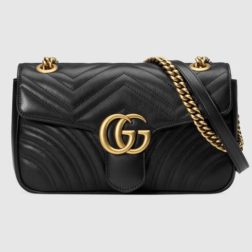 GG Marmont Small Shoulder Bag Matelassé | GUCCI®