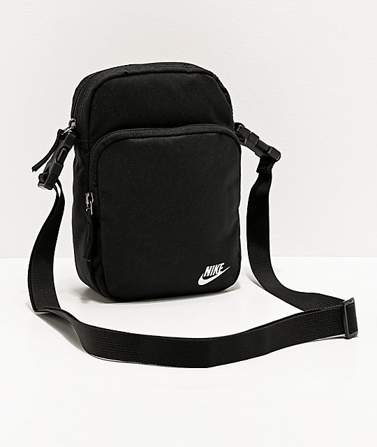 Nike Heritage 2.0 Black Shoulder Bag | Zumi