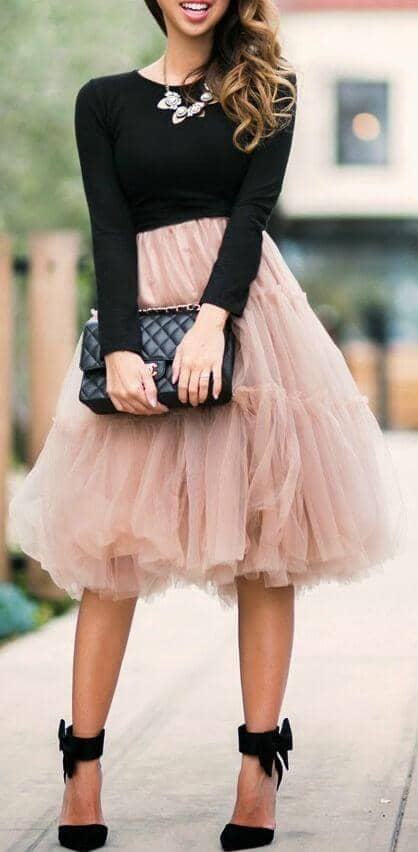 23 Cute Skirt Outfit Ide