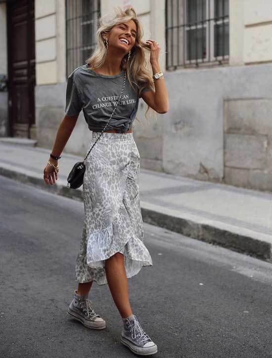 25+ High Waisted Skirt Outfit Ideas That Meant for Summer - Outfit .