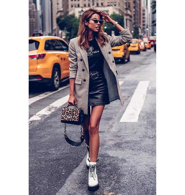20 Leather Skirt Outfits to Wear This Winter and Fall - Outfit .