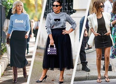 19 Easy Black Skirt Outfit Ideas - PureW