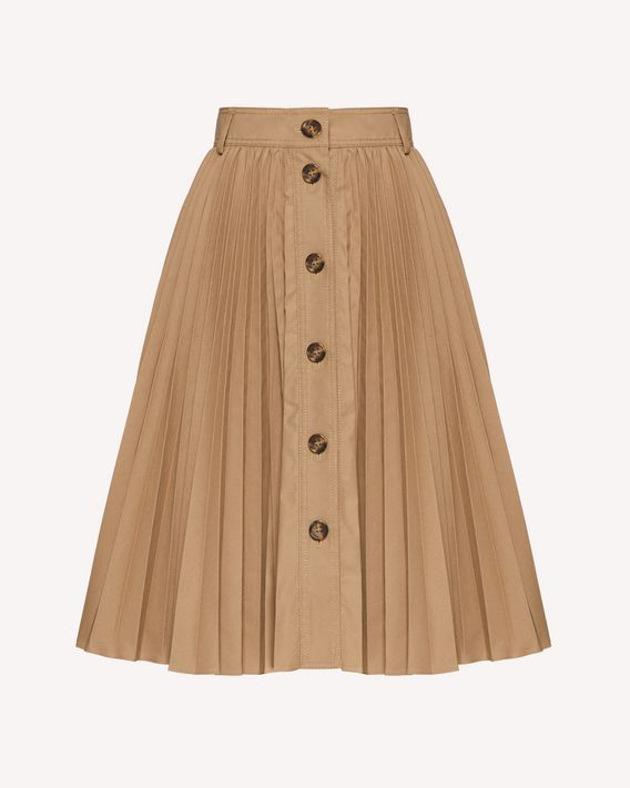 REDValentino Armuré Tech Pleated Skirt - Long And Midi Skirts for .