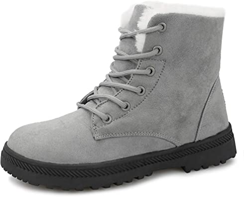 Amazon.com | Winter Snow Boots for Women Comfortable Outdoor Anti .