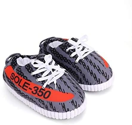 Amazon.com | SoleSlip Sneaker Slippers | Men and Women | Comfy and .