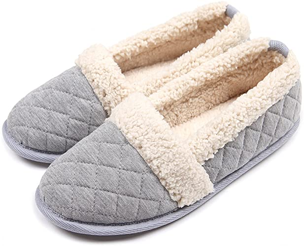 Amazon.com | ChicNChic Women Plush House Slippers Ladies Non Slip .