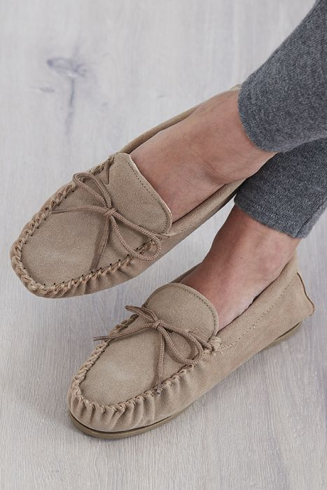 Ladies Moccasin Slippers | Ladies Slippers | Tesoro By Desi