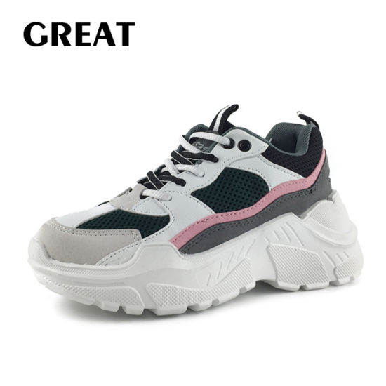 China Greatshoe New Design 2019 Woman Shoes Fashionable High Hell .