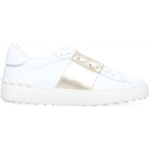 VALENTINO Open leather sneakers Women's Sneakers 783-10004 .