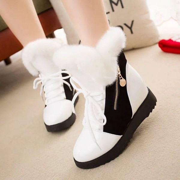 Buy Women Autumn Winter Ankle Boots Winter Shoes Woman Snow Boots .