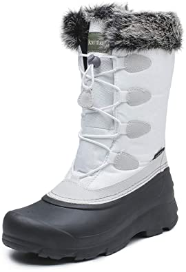 Amazon.com | Women's Winter Boots Waterproof and Non-Slip Snow .