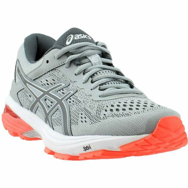 ASICS GT-1000 6 Casual Running Stability Shoes - Grey - Womens for .