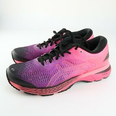 ASICS Gel-Kayano 25 SP Running Stability Shoes Pink/Black/Purple .