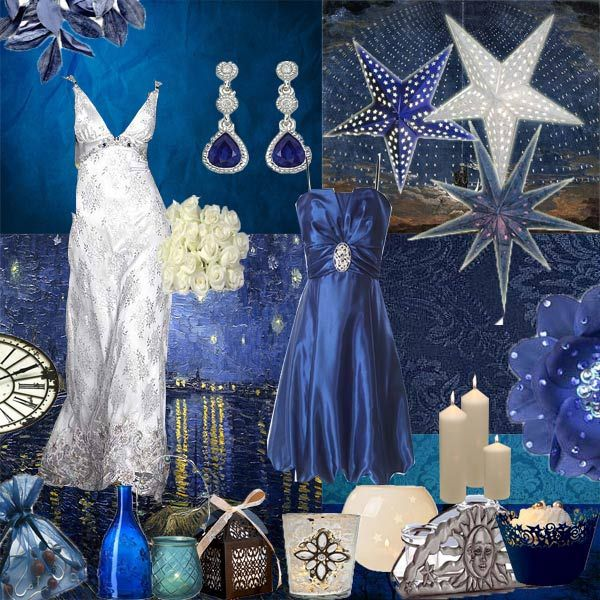 "Starry, Starry Night"" Wedding Theme 