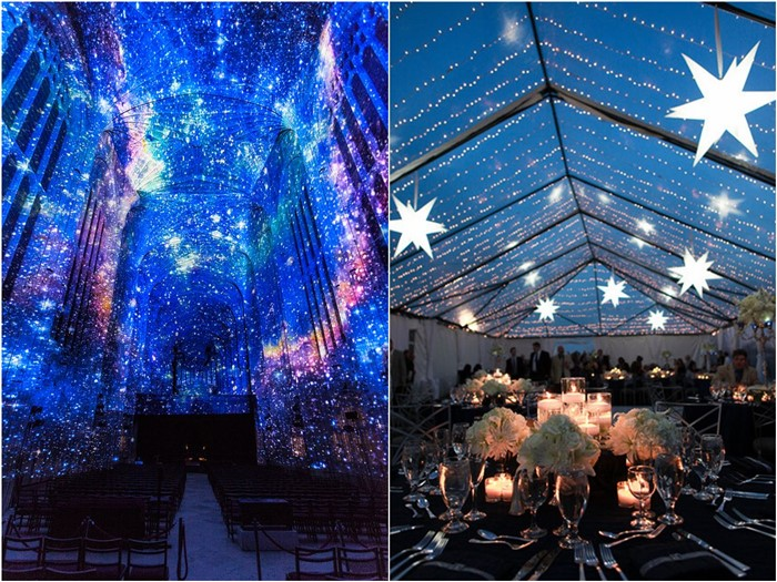 18 Romantic Starry Night Wedding Ideas You Can't Resist - Mrs to
