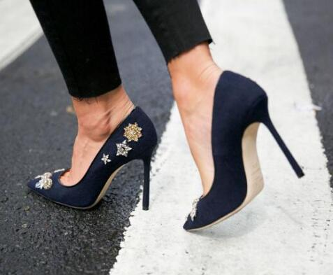 2017 new style top quality women high heels stilettos women pumps .