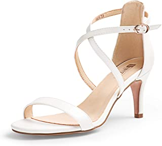 Amazon.com: sexy strappy white sandals - 4 Stars & Up / Women .