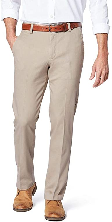 Dockers Men's Slim Fit Signature Khaki Lux Cotton Stretch Pants at .