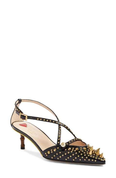 Gucci Unia Studded Pump (Women) | Women's pumps, Pum