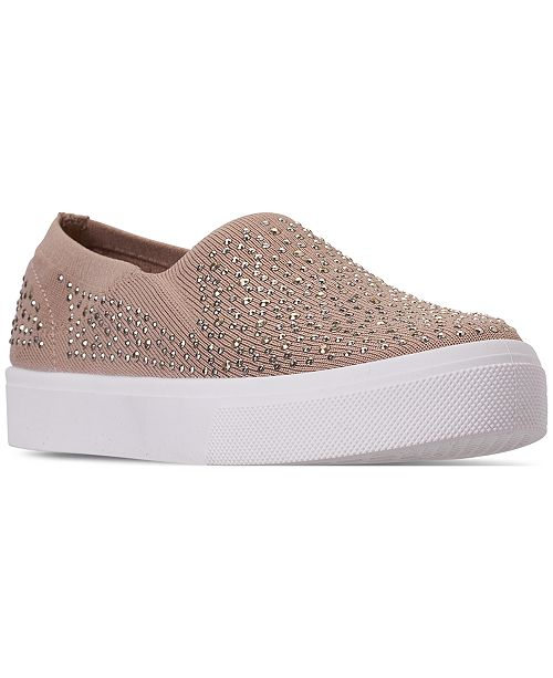 Skechers Women's Street Poppy - Studded Affair Slip-On Casual .